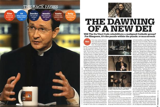 Article Preview: THE DAWNING OF A NEW DEI, MAY 22nd 2006 2006 | Maclean's