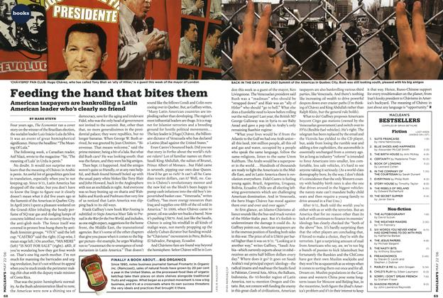 Article Preview: Feeding the hand that bites them, MAY 22nd 2006 2006 | Maclean's