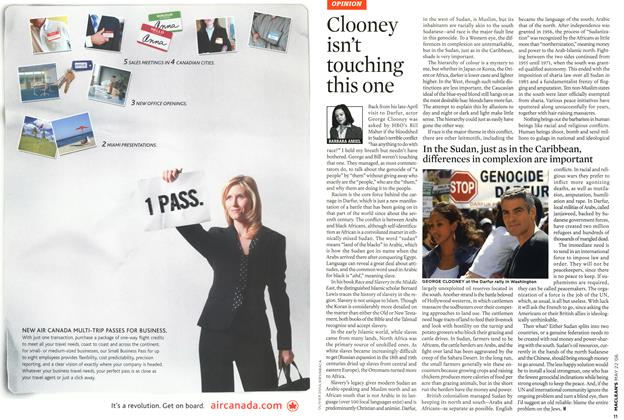 Article Preview: Clooney isn't touching this one, MAY 22nd 2006 2006   Maclean's