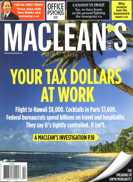 Issue: - MAY 29th 2006 | Maclean's