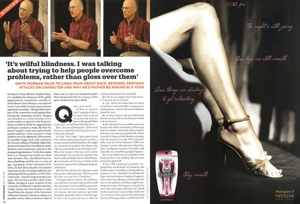 Article Preview: INTERVIEW, MAY 29th 2006 2006 | Maclean's