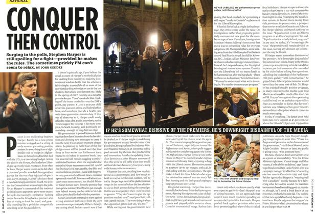 Article Preview: CONQUER THEN CONTROL, JUN. 5th 2006 2006 | Maclean's