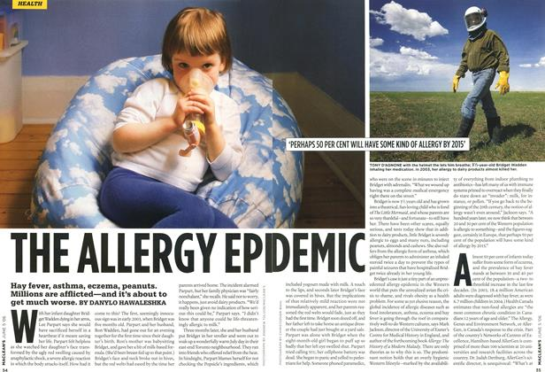 Article Preview: THE ALLERGY EPIDEMIC, JUN. 5th 2006 2006 | Maclean's