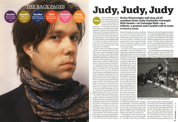 Article Preview: Judy, Judy, Judy, JUN. 5th 2006 2006 | Maclean's