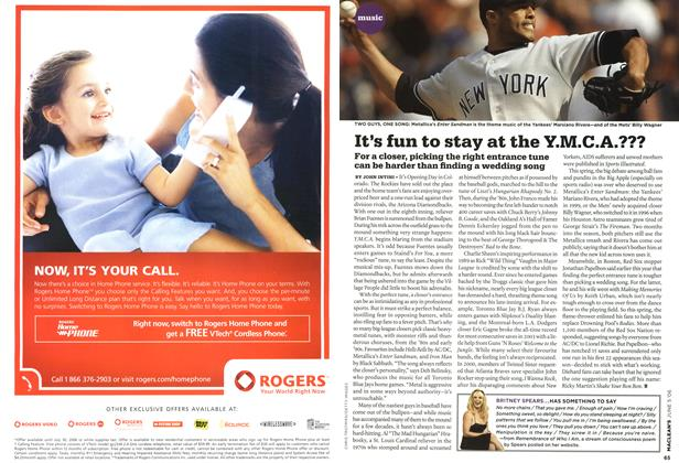Article Preview: It's fun to stay at the Y.M.C.A.???, JUN. 5th 2006 2006 | Maclean's
