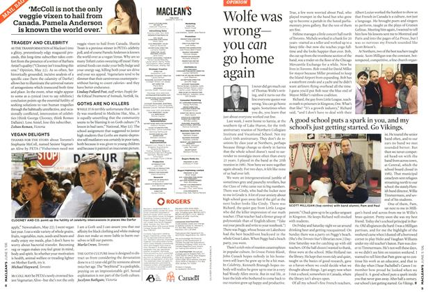 Article Preview: Wolfe was wrong— you can go home again, JUN. 5th 2006 2006 | Maclean's