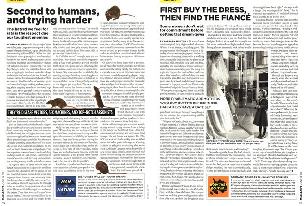 Article Preview: Second to humans, and trying harder, JUN. 12th 2006 2006 | Maclean's