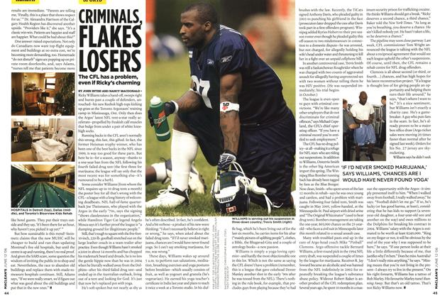Article Preview: CRIMINALS. FLAKED LOSERS, JUN. 12th 2006 2006 | Maclean's