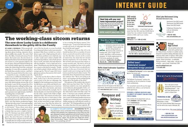 Article Preview: The working-class sitcom returns, JUN. 12th 2006 2006 | Maclean's