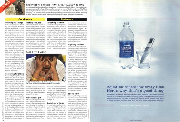 Article Preview: 7 DAYS THE WEEK OF 5/29, JUN. 12th 2006 2006 | Maclean's