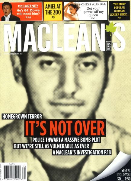 Issue: - JUN. 19th 2006 | Maclean's
