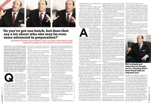 Article Preview: INTERVIEW, JUN. 19th 2006 2006 | Maclean's