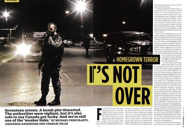 Article Preview: HOMEGROWN TERROR IT'S NOT OVER, JUN. 19th 2006 2006 | Maclean's