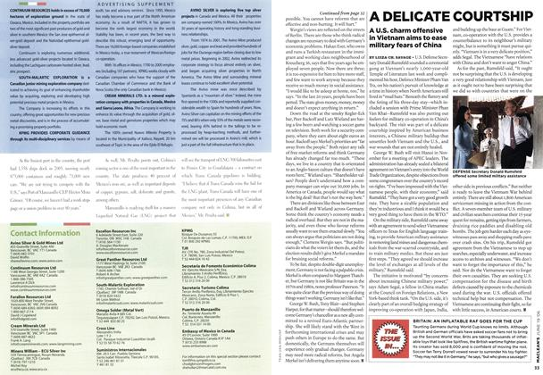 Article Preview: A DELICATE COURTSHIP, JUN. 19th 2006 2006 | Maclean's