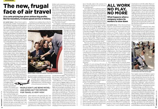 Article Preview: The new, frugal face of air travel, JUN. 19th 2006 2006 | Maclean's