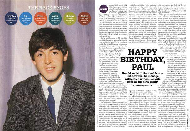Article Preview: HAPPY BIRTHDAY, PAUL, JUN. 19th 2006 2006 | Maclean's