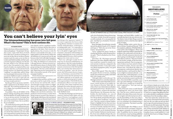 Article Preview: You can't believe your lyin' eyes, JUN. 19th 2006 2006 | Maclean's