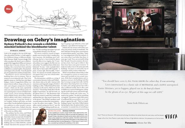 Article Preview: Drawing on Gehry's imagination, JUN. 19th 2006 2006 | Maclean's