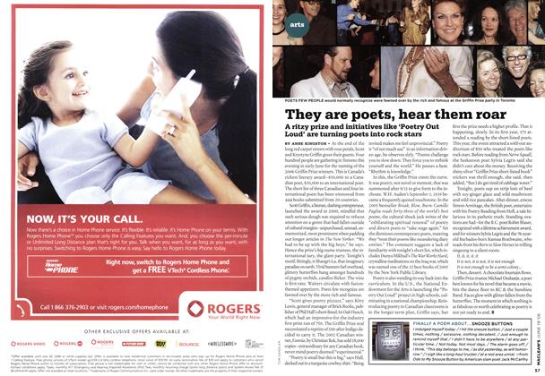 Article Preview: They are poets, hear them roar, JUN. 19th 2006 2006 | Maclean's