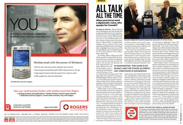 Article Preview: ALL TALK ALL THE TIME, JUN. 26th 2006 2006 | Maclean's
