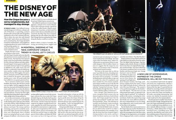 Article Preview: THE DISNEYOF THE NEW AGE, JUN. 26th 2006 2006 | Maclean's