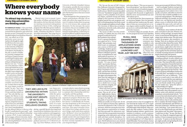 Article Preview: Where everybody knows your name, JUN. 26th 2006 2006 | Maclean's