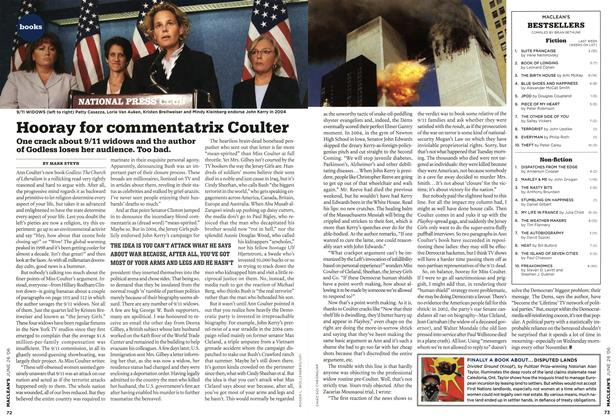 Article Preview: Hooray for commentatrix Coulter, JUN. 26th 2006 2006 | Maclean's
