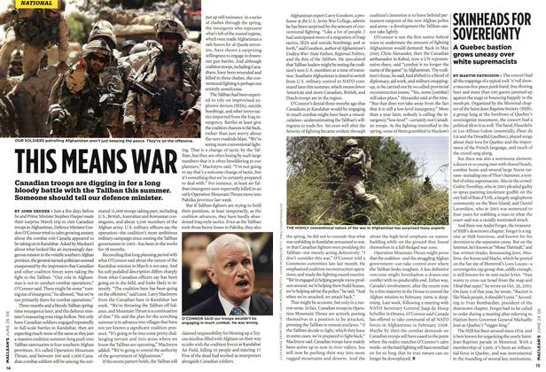Article Preview: THIS MEANS WAR, JUN. 26th 2006 2006 | Maclean's