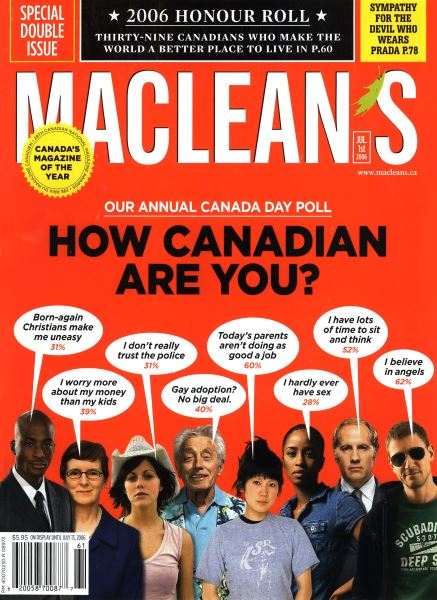 Issue: - JUL. 1st 2006 | Maclean's