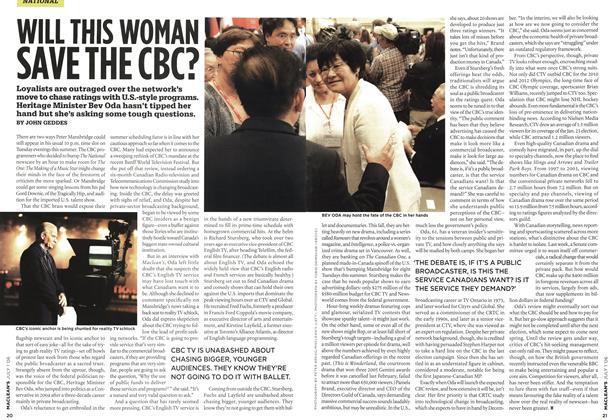 Article Preview: WILL THIS WOMAN SAVE THE CBC?, JUL. 1st 2006 2006 | Maclean's