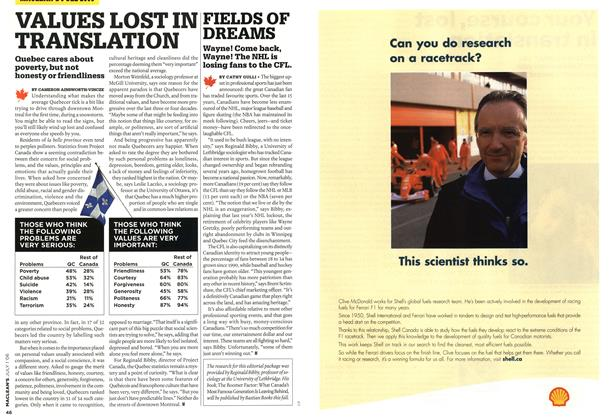 Article Preview: FIELDS OF DREAMS, JUL. 1st 2006 2006 | Maclean's