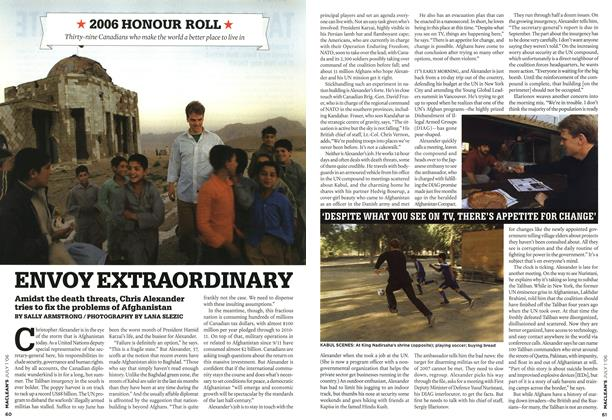 Article Preview: ENVOY EXTRAORDINARY, JUL. 1st 2006 2006 | Maclean's