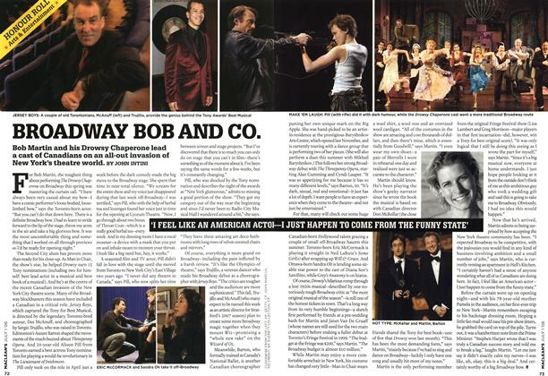Article Preview: BROADWAY BOB AND CO., JUL. 1st 2006 2006 | Maclean's