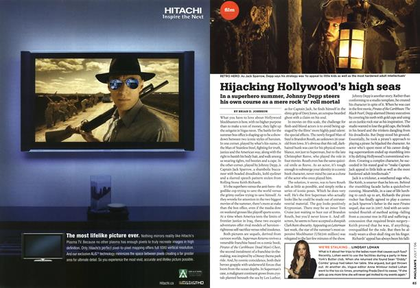 Article Preview: Hijacking Hollywood's high seas, JUL. 1st 2006 2006 | Maclean's