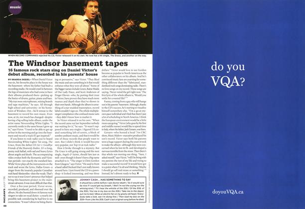 Article Preview: The Windsor basement tapes, JUL. 1st 2006 2006 | Maclean's