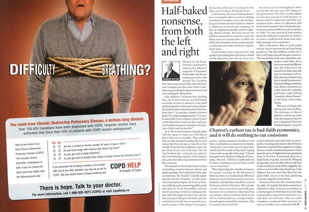 Article Preview: Half-baked nonsense, from both the left and right, JUL. 1st 2006 2006 | Maclean's