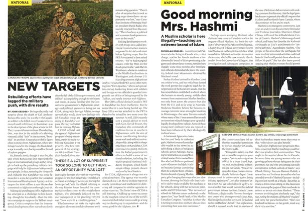 Article Preview: NEW TARGETS, JUL 24th 2006 2006 | Maclean's