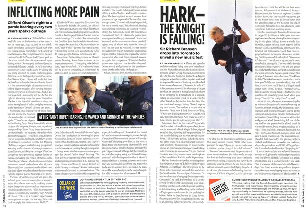 Article Preview: INFLICTING MORE PAIN, JUL 24th 2006 2006 | Maclean's