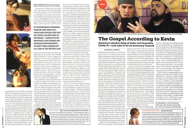 Article Preview: The Gospel According to Kevin, JUL 24th 2006 2006 | Maclean's