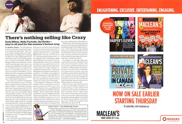 Article Preview: There's nothing selling like Crazy, JUL 24th 2006 2006   Maclean's
