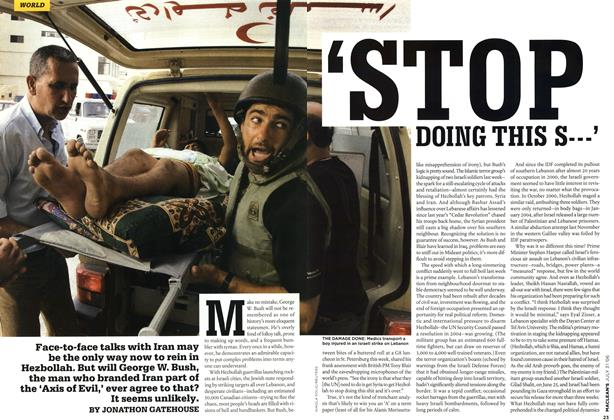 Article Preview: 'STOP DOING THIS S___', JUL 31st 2006 2006 | Maclean's