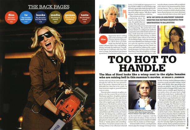 Article Preview: TOO HOT TO HANDLE, JUL 31st 2006 2006 | Maclean's