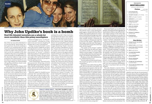 Article Preview: Why John Updike's book is a bomb, JUL 31st 2006 2006 | Maclean's