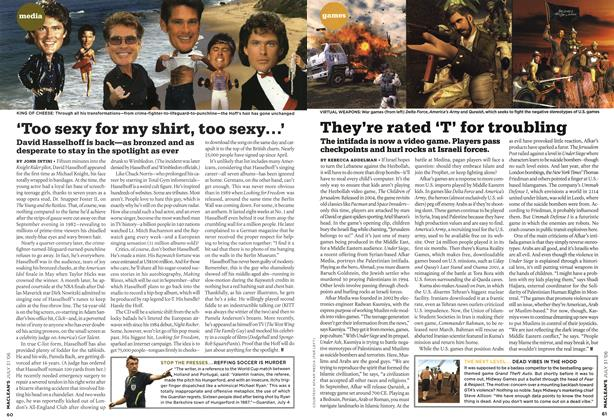 Article Preview: They're rated 'T' for troubling, JUL 31st 2006 2006 | Maclean's
