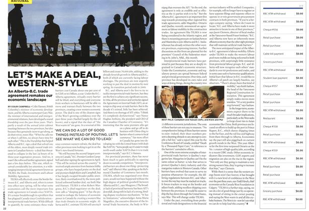 Article Preview: LET'S MAKE A DEAL, WESTERN-STYLE, AUG. 7th 2006 2006 | Maclean's