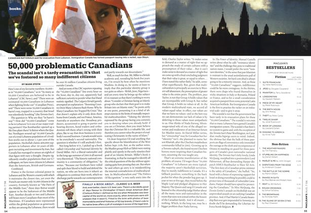 Article Preview: 50,000 problematic Canadians, AUG. 7th 2006 2006 | Maclean's