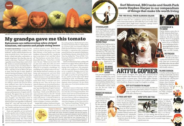 Article Preview: My grandpa gave me this tomato, AUG. 7th 2006 2006 | Maclean's