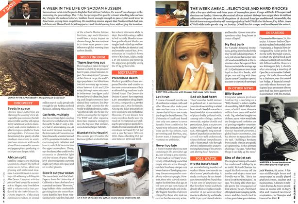 Article Preview: 7 DAYS, AUG. 7th 2006 2006 | Maclean's