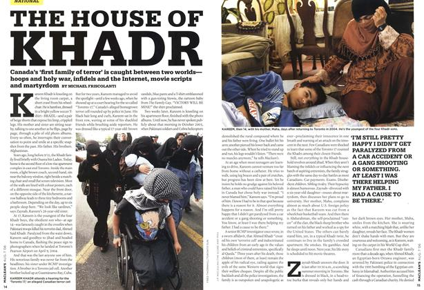 Article Preview: THE HOUSE OF KHADR, AUG. 7th 2006 2006 | Maclean's
