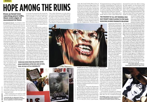 Article Preview: HOPE AMONG THE RUINS, AUG. 14th 2006 2006 | Maclean's